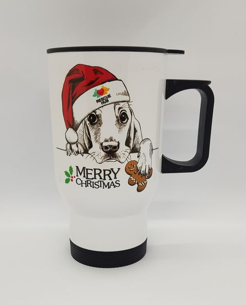Rescue Hub Christmas Travel Mug